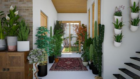 Urban Jungle Hallway - by dianasyafira