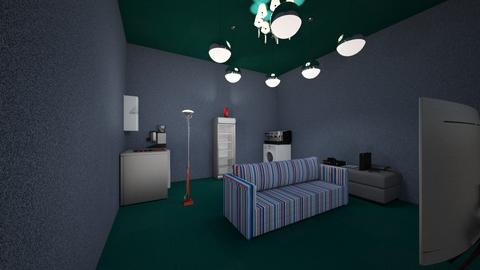 eclectic room - by Maria Jose y alex