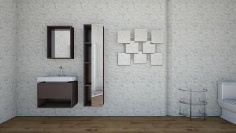 Bathroom Number 1 - Bathroom - by Molly Glover