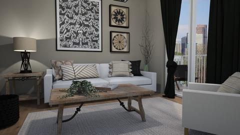 Corner - Living room - by Tuija