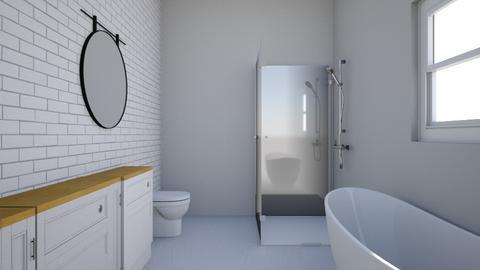 Master bath - Modern - Bathroom  - by theperfectroom101