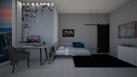 star - Bedroom  - by tete_architect