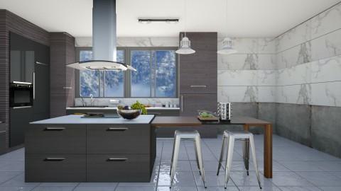 family kitchen - Kitchen  - by maureen smith