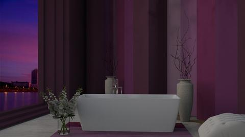 freestanding bath - Bathroom  - by nihalruttala