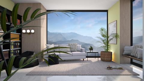 Evie - Living room  - by Meghan White