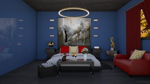 Dormitorio - Bedroom - by Teresa Valdes Beso