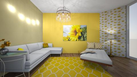 Sunflower - Living room  - by Gracezook