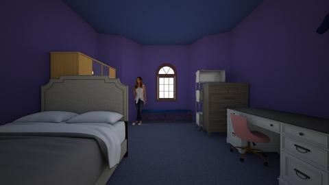 Anastasia bedroom - Modern - Bedroom  - by annarocks12310