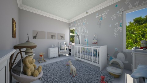 baby  - Kids room  - by Lauris Osorio