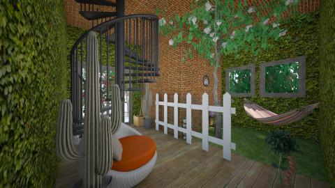 home garden - Modern - Garden  - by oliwiaoliwia