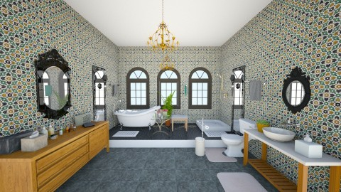 Victorian bathroom - Vintage - Bathroom  - by mmt_regina_nox