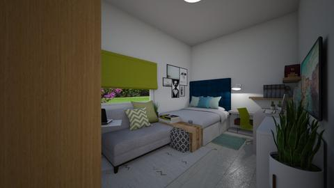 Toni - Bedroom - by luiza cruz