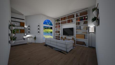My lovely living room - Modern - Living room - by Scarlet777