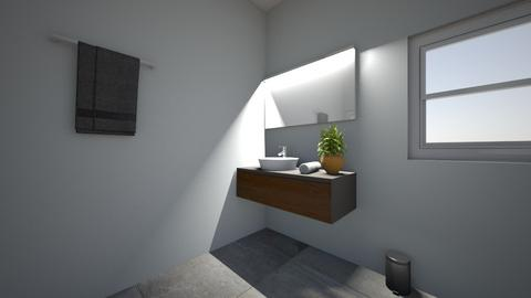 Project 5 Part 5 - Bathroom  - by Mpumie