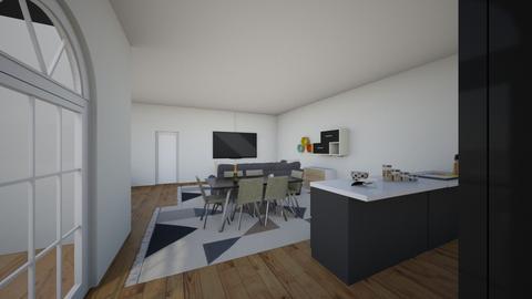 Appartement - Kitchen  - by CHLOE BRISSET