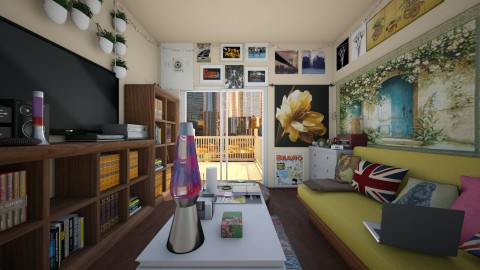 studio apartment - Office - by rachelfox985