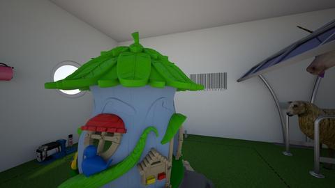 MY AMAZING HOUSE  - Garden  - by AHAHuuuu