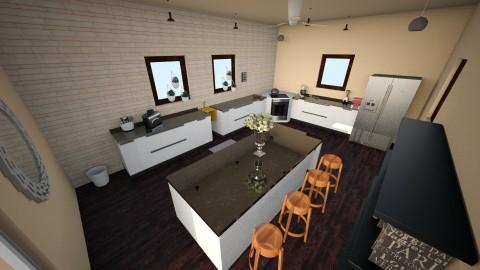 Modern Kitchen - Kitchen - by RaeBayK33