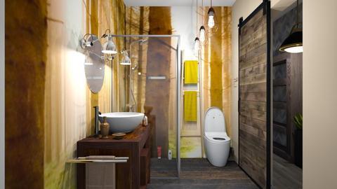 forrest bathroom - Bathroom - by ewcia3666