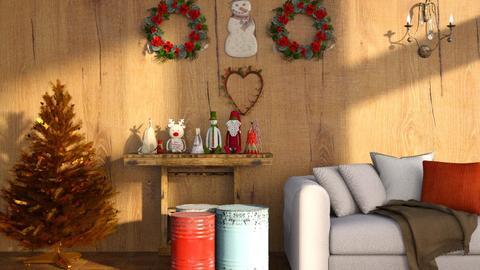 Christmas_Wall - Living room  - by ZuzanaDesign