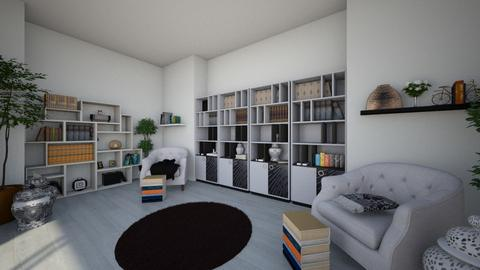 Books and More Books - Eclectic - Office  - by Irishrose58