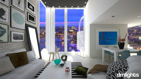 House In London - Eclectic - Living room  - by KRdesign