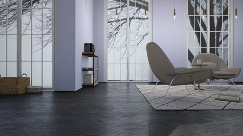 Fog Day - Living room  - by designcat31