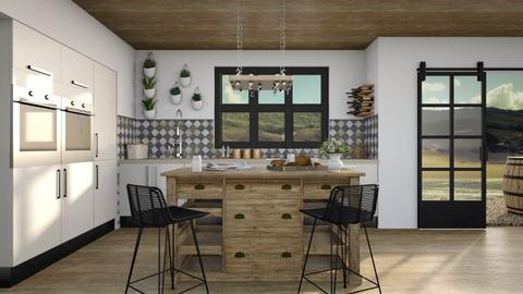 eclectic kitchen - Kitchen  - by miadesign