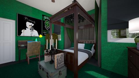 Slytherin Teen 2 - Bedroom  - by SammyJPili