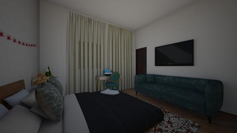 future apartment  - Bedroom  - by claramarie23