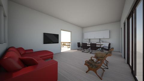 Full room 1 - Living room  - by gleidy