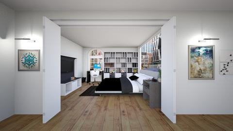 Cosy - Modern - Bedroom  - by Helen Abram