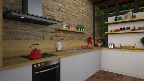 Barcelona detail 1 - Modern - Kitchen  - by Claudia Correia