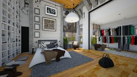 kk - Modern - Bedroom  - by Evangeline_The_Unicorn