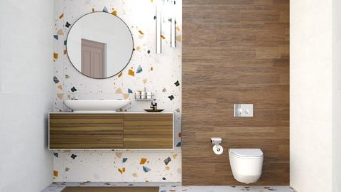 Terrazzo Bath - Bathroom  - by lyrikkah