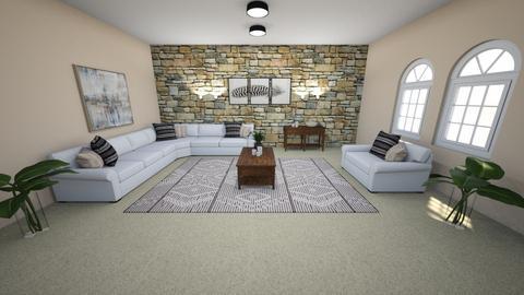 Old west - Living room  - by wiserenee81