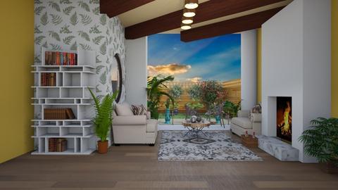 spring sunshine - Modern - Living room  - by BlackOrchidea
