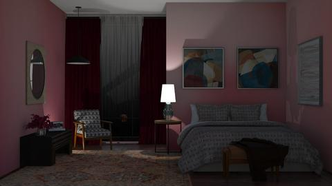 dark - Bedroom  - by milyca8