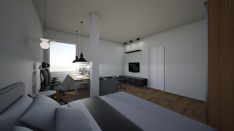 NEWroom2 - Minimal - Bedroom  - by pashewon