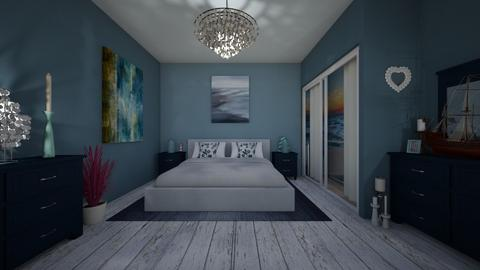 Nautical Bedroom - Bedroom  - by Evihun