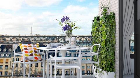 Paris Balcony - Classic - Garden  - by HenkRetro1960
