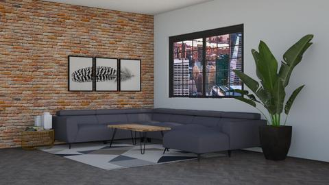 City View - Living room  - by Tanem Kutlu