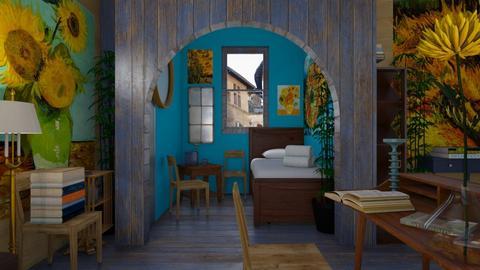 Van Gogh Bedroom - Bedroom  - by rechnaya