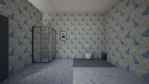soviet trio bathroom - Classic - Bathroom  - by pie_wastaken