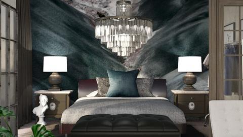 O Keeffe Inspired Bedroom - by ritsa