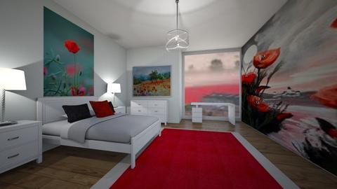 Poppy Bedroom - Bedroom - by LaurenTheOwl95