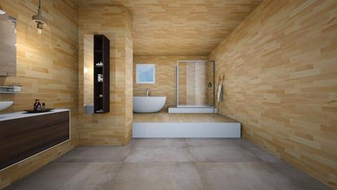 luxury bath - Modern - Bathroom  - by ATHENANn