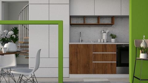 Nook - Modern - Kitchen  - by Gurns