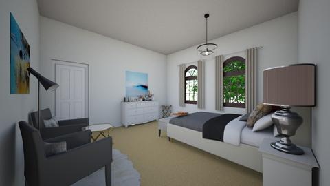 SJbedroom1 - Modern - Bedroom - by Stephanie Felix