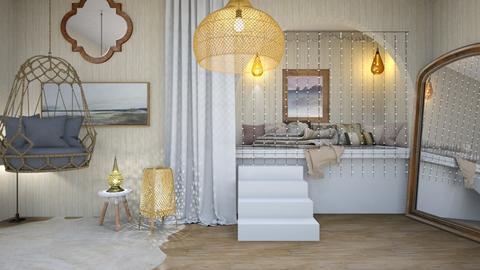 Fun bedroom - Bedroom  - by Feeny